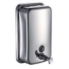 Дозатор для жидкого мыла настенный металлический ТМ Кraft