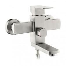 Смеситель для ванной комнаты KRF 4023 ТМ Кraft квадратный с коротким изливом