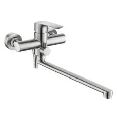 Смеситель для ванной комнаты KRF 4038 ТМ Кraft с длинным поворотным изливом
