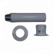 Bosch AZ 395 Коаксиальный горизонтальный дымоход с адаптером подключения к котлу, ?60/100 (Отвод 90° не входит в комплект)