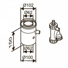 Bosch AZ 402 ?60/100 для отведения конденсата