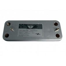 Вторичный пластинчатый теплообменник Baxi 14 пластин. 17B2071400
