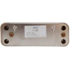 Вторичный пластинчатый теплообменник Baxi. 12 пластин. 20490240