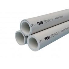 PPR Tebo труба PN 20 для горячей воды D 25 16010203