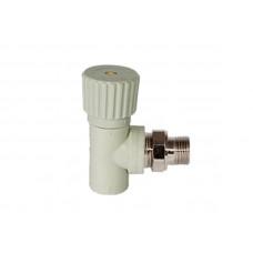 PPR Tebo вентиль радиаторный угловой D 20*1/2 31060411