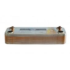 Вторичный пластинчатый теплообменник 12 пластин Beretta, Nobel. 17B1901201