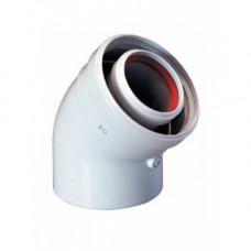 Bosch AZ 394 Коаксиальный Отвод 45°, ?60/100