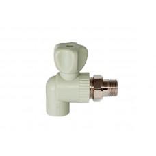PPR Tebo кран шаровой радиаторный угловой D 20*1/2 31060211