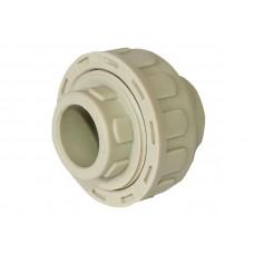 PPR Tebo муфта разборная пластиковая D 40 31020304