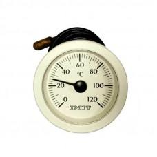 Термометр (круглый) ф 52мм., 0-120?С. 010282