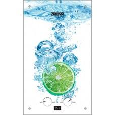 Газовый водонагреватель ZANUSSI GWH 10 Fonte Glass Lime