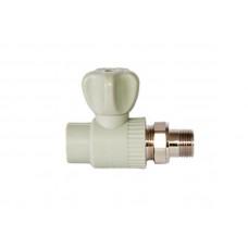 PPR Tebo кран шаровой радиаторный прямой D 20*1/2 31060201