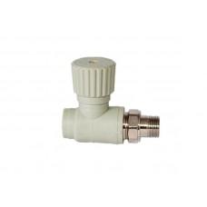 PPR Tebo вентиль радиаторный прямой D 20*1/2 31060401