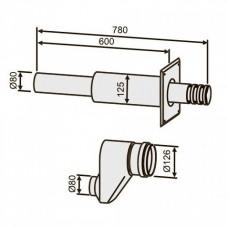 Bosch AZ 405 ?80?80 L=?80 мм