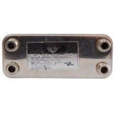 Вторичный пластинчатый теплообменник Vaillant 12 пластин 17B1901215