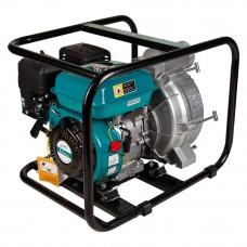 Мотопомпа 6.5л.с. Hmax 29м Qmax 60 кубм/ч (4-х тактный) для грязной воды LEO (772517)