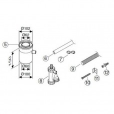 Bosch AZ 401 ?60/100 для отведения конденсата