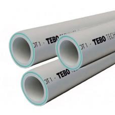 PPR Tebo труба армированная стекловолокном (Fiber) D 50 16010406