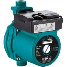 """Насос для повышения давления 123Вт Hmax 9м Qmax 25л/мин d 3/4 """" 160мм + гайки d 1/2 """" LEO 3.0 (774741)"""