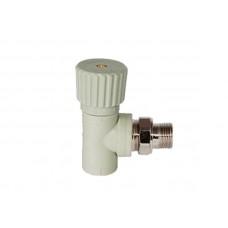 PPR Tebo вентиль радиаторный угловой D 25*3/4 31060414