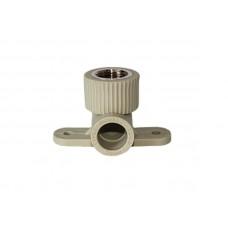 PPR Tebo колено настенное (монтажное) с внутренней резьбой D 20*1/2 31030802