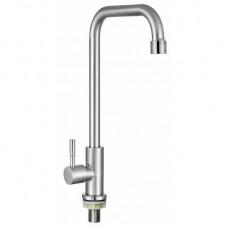 Монокран для холодной воды  KRF 6002 ТМ Кraft с высоким квадратным изливом
