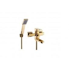 Смеситель для ванной Zegor LEB3-A123-КG Золото