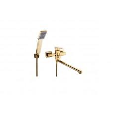 Смеситель для ванной Zegor LEB7-A123-КG Золотой